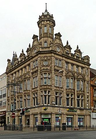 Yorkshire Building Society - Yorkshire Building Society branch on Briggate in Leeds