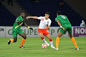 Younès Belhanda - Younès Belhanda against Niger