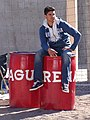 Young Man with Barrels - Mulege - Baja California Sur - Mexico (23736638610).jpg