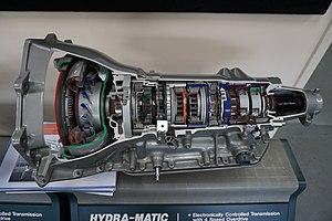 GM 4L80-E transmission - A Hydra-Matic 4L80 transmission at the Ypsilanti Automotive Heritage Museum