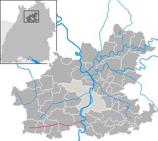 Zaber river (red)