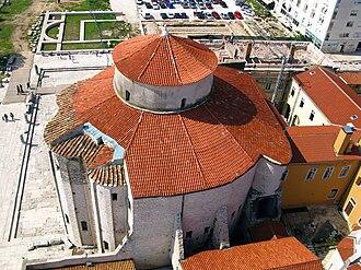 Church of St Donatus - Image: Zadar Sankt Donat 04