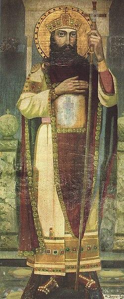 """250px-Zar_boris_kichevo Всемирното Православие - НА СВ. ЦАР БОРИС-МИХАИЛ ЛИ Е ГРОБНИЦАТА В МЕСТНОСТТА """"КИРЕКА"""" ПОД МАДАРСКИТЕ СКАЛИ"""