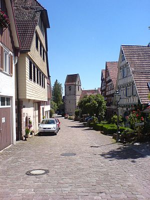 Calw (district) - City of Zavelstein near Calw