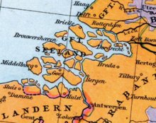 Zeeland Karte Niederlande.Provinz Zeeland Wikipedia