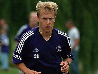 Pär Zetterberg Swedish footballer