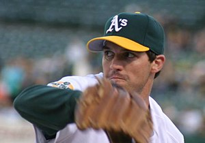 Barry Zito - Zito throwing a pitch