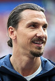 Zlatan Ibrahimović Swedish association football player