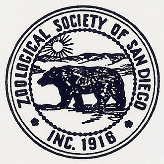 San Diego Zoo Global - The Zoological Society's first official seal, used from 1917–55, featured an image of a grizzly bear, and was replaced in response to the grizzly being declared extinct in California.