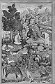 """""""Bahram Gur Sees a Herd of Deer Mesmerized by Dilaram' s Music"""", Folio from a Khamsa (Quintet) of Amir Khusrau Dihlavi MET 176434.jpg"""