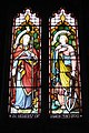"""Faith"" and ""Hope"" in stained glass, Llandenny church - geograph.org.uk - 1122832.jpg"