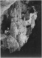 """""""Formations, a few of many natural formations at Carlsbad Caverns. Carlsbad Caverns National Park,"""" New Mexico. (vertica - NARA - 520037.tif"""