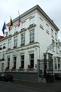 """""""Grand Hôtel du Commerce"""" of """"Grand Hôtel"""", heden """"Hotel Navarra"""" - Sint-Jakobsstraat 41 - Brugge - 29674.JPG"""
