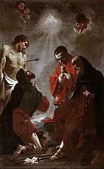 Santi Sebastiano, Rocco, Antonio abate e Carlo Borromeo