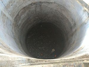 "Jallianwala Bagh massacre - ""The Martyrs' Well"" at Jallianwala Bagh."
