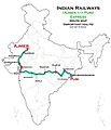 (Ajmer - Puri) Express Route map.jpg