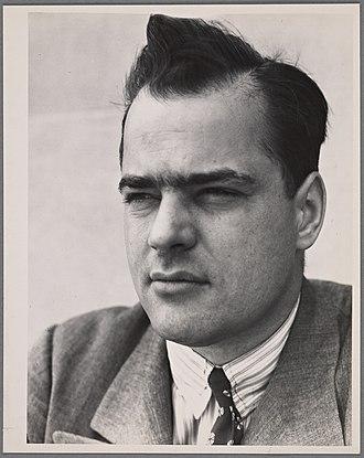 Pare Lorentz - Pare Lorentz, 1935—1942  (possibly by Dorothea Lange)
