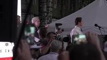 Vidéo d'un meeting de Tikhanovskaïa.