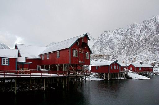 Å i Lofoten III (perspective corrected)