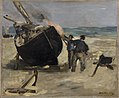 Édouard Manet - Tarring the Boat (Le Bateau goudronné) - BF166 - Barnes Foundation.jpg