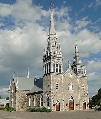 Deschambault-Grondines - Image: Église Saint Charles Borromée 01