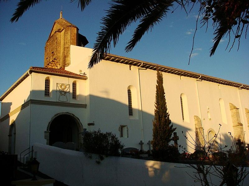 église Notre-Dame de l'Assomption, à Bidart (XVIe siècle)