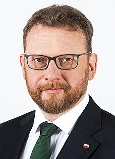 Łukasz Szumowski Polish cardiologist and politician