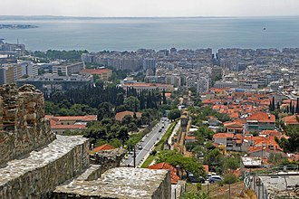 Upper Town (Thessaloniki) - View of Ano Poli