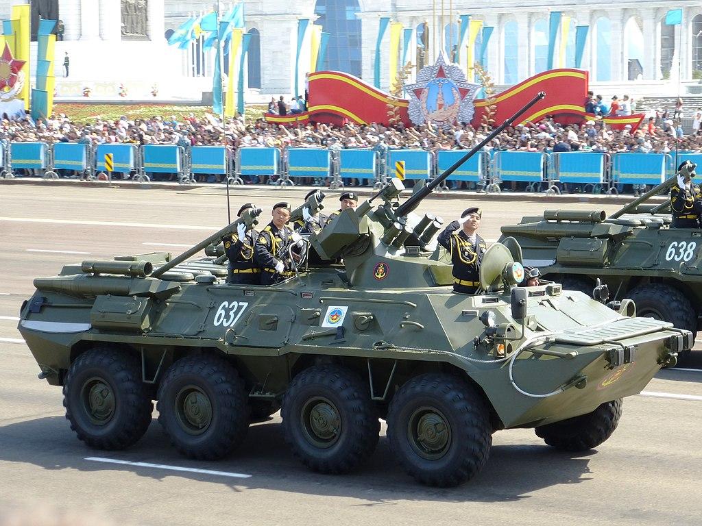 Японец против Русского: Тип 96 VS БТР-82А