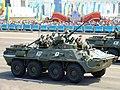 БТР-82А 390-й бригады морской пехоты Вооружённых Сил Казахстана.JPG