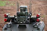 Боевой многофункциональный робототехнический комплекс Уран-9 - День передовых технологий правоохранительных органов РФ 2017 07.jpg