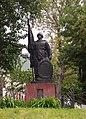 Братська могила 70 радянських воїнів загиблих при визволенні міста в вересні 1943 р. - січні 1944 р. 2.jpg