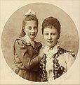 Великая княгиня Елизавета Маврикиевна с дочерью Татьяной.jpg