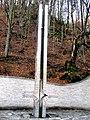 Геодезичний знак на місці розташування географічний центру Європи, с. Ділове, Рахівський р-н, Закарпатська об.jpg