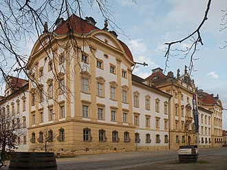 Ellingen Residence - Image: Замок Немецкого ордена в Эллингене