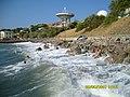 Кацивели. Дикий пляж под радиотелескопом. 06-08-2007г. - panoramio.jpg