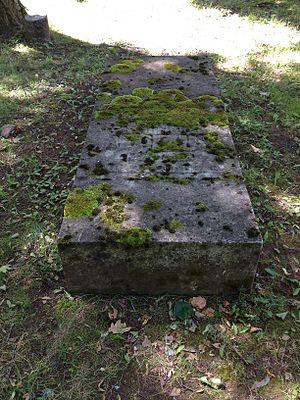 Franz Aepinus - Aepinus gravestone in Raadi cemetery, Tartu, Estonia