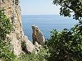 Новый Свет. Вид на море с тропы Галицина - panoramio.jpg