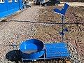 """Самодельная стойка для мытья обуви на стройплощадке ЖК """"Эланд"""".JPG"""