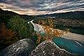 Сколівські Бескиди, вид на річку.jpg