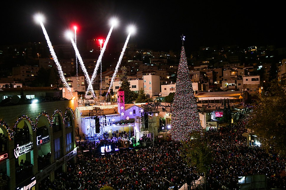 חגיגות חג המולד בנצרת