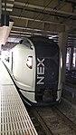 位於新宿站的成田特快 Narita Express in Shinjuku Station.jpg