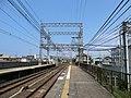 吉見ノ里駅 ホーム変電設備 - panoramio.jpg