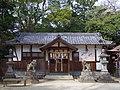 壹須何神社拝殿 河南町一須賀 Ichisuka-jinja 2013.3.30 - panoramio.jpg