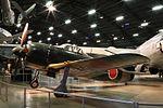 局地戦闘機 紫電 二一型 National Museum of USAF 150726.JPG