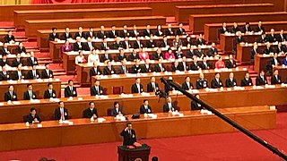 Constitutional oath of office of China