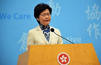 """Link REIT - Carrie Lam, now chief executive, has called Link REIT one of the """"three mountains"""" facing Hong Kong society"""