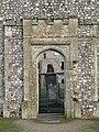 -2020-12-01 South elvation doorway, Outer gatehouse, Baconsthorpe Castle.JPG