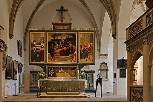 00 3419 Wittenberg - Lutherstadt (Stadtkirche)