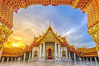 Wat Benchamabophit - The Ordination Hall (Ubosot)